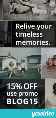 preserve home movies, transfer VHS to DVD, family videos, 15% off